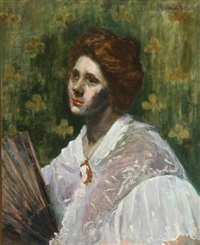 portrait of a lady by eurilda loomis france