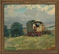 the gypsy caravan by lucy elizabeth kemp-welch