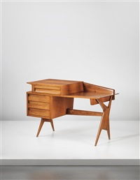 desk (from palazzina fago, rome) by ico parisi
