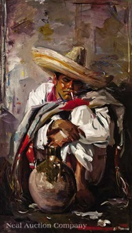 portrait of juan perez by wayman adams