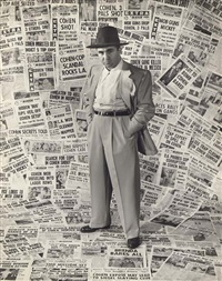 mickey cohen and his press-clippings by edward clark