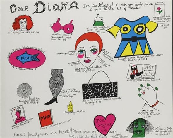 dear diana by niki de saint phalle