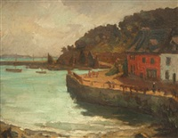 le port de morgat by gaston pierre duhamel