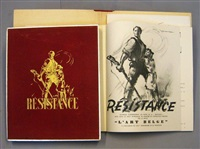 resistance (bk w/25 works, folio) by ferdinand van hamme