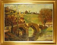 pont de cordemois à bouillon by fernand lienaux