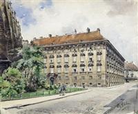 minoritenplatz by rudolf pichler
