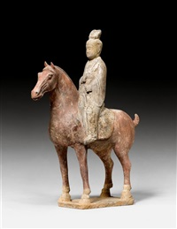 dame zu pferd by anonymous-chinese (tang dynasty)