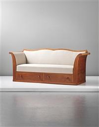sofa with two drawers by kaj gottlob