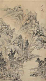 landscape by ikeno taiga