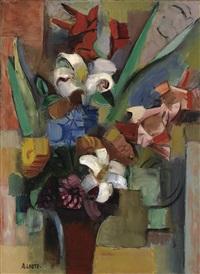 bouquet de fleurs by andré lhote