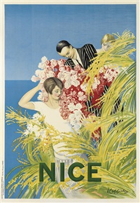 nice by leonetto cappiello