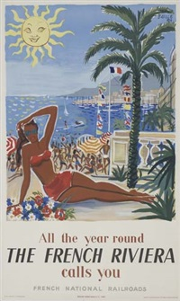 the french riviera by hervé baille