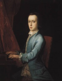 portrait of master brockhill newburgh by philip hussey