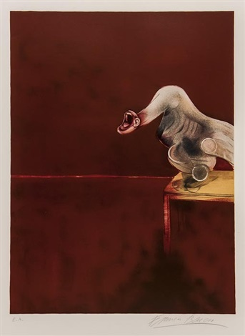 after second version of the triptych 3 works by francis bacon