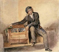 the organ grinder by octavius oakley