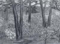 springtime landscape by herman oliver albright