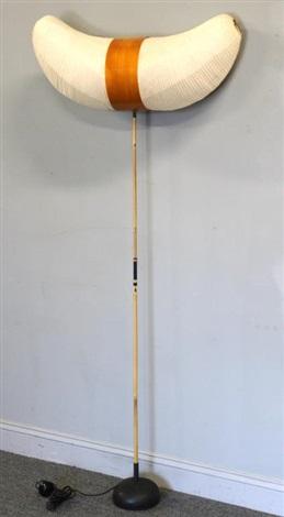 Akari Horn Floor Lamp by Isamu Noguchi on artnet