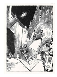 l'escalier by frédéric bézian