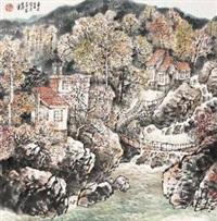 山居图 by xu yisheng