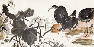 荷塘 by xiao longshi