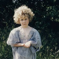 untitled (nr. 29, shirley temple) by hellen van meene