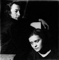 two portraits of jarmila rambousková and gertruda fischerová – rösslerová by jaroslav rössler