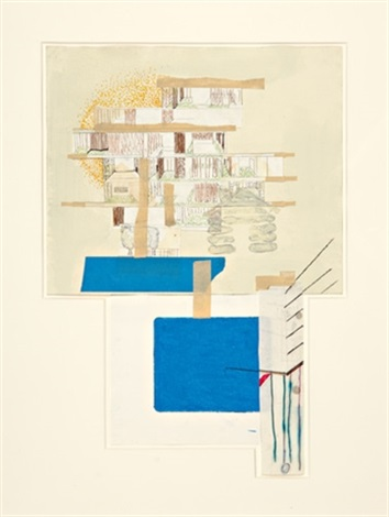 untitled house drawing by julie becker