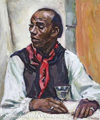 portrait of jim by henry abraham wolfson