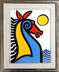 seahorse by alexander calder
