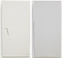 untitled (+ untitled, 1964; 2 works) by mira schendel
