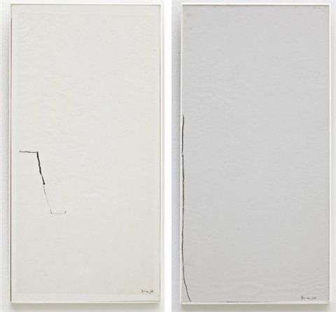 untitled untitled 1964 2 works by mira schendel