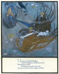 u was a youthful undine by edmund dulac