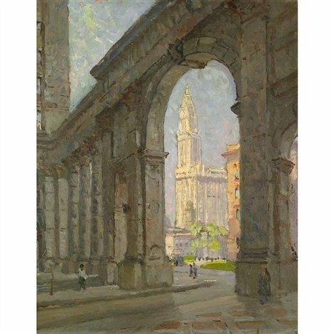 woolworth building, new york city by colin campbell cooper