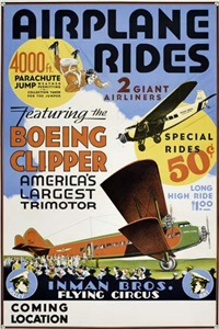 inman brothers flying circus by posters: circus