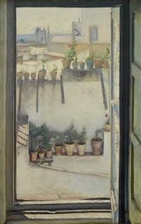 ventana con azoteas by jose arpa y perea