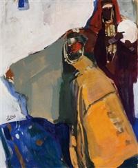 deux berbères aux bijoux by alfred dabat
