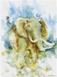 der elefant by friedel auer-miehle