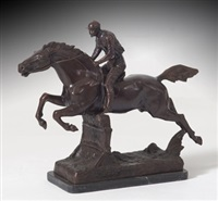 jockey a caballo by rosa bonheur