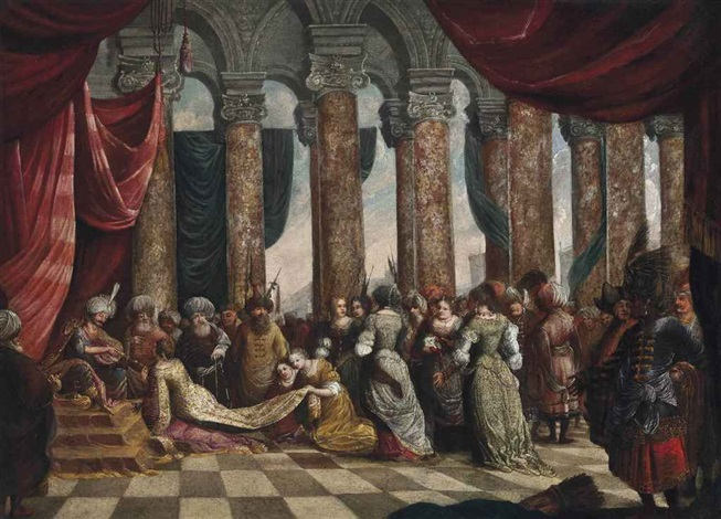 solomon and the queen of sheba by paolo veronese