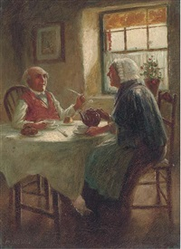 after tea (+ another similar; pair) by alexander austen