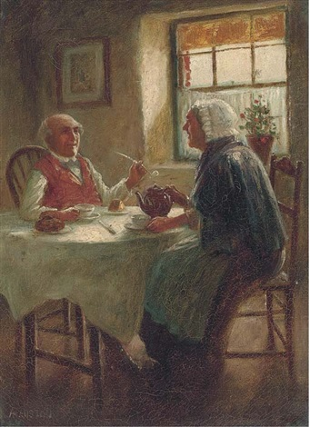 after tea another similar pair by alexander austen