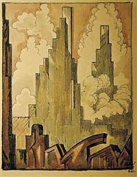 kubistická architektura by jan konoupek