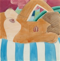 nude torso by tom wesselmann
