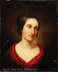 portrait of mary davenport kimball by rembrandt peale