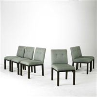 dining chairs (set of 6) by john widdicomb furniture (co.)