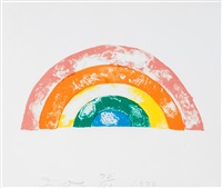 rainbow by jim dine