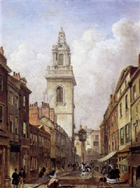 parti fra london (med st. martin in-the-fields?) by giuseppe patti sciuti