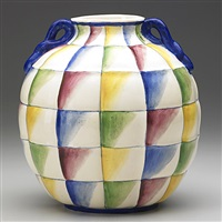 quilted vessel by richard ginori and gio ponti