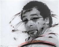 self-portrait by arnulf rainer