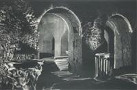 anfiteatro flavio pozzuoli. naples (2 works) by michel séméniako